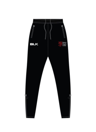 Kenya Rugby Elite Track Pants - Black