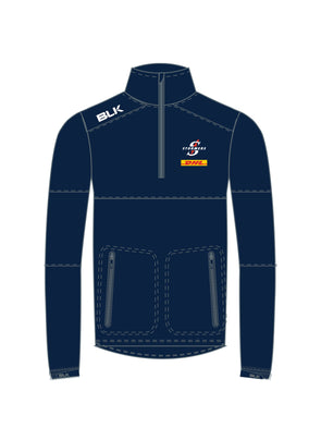 Stormers Elite Qtr Zip Top - Navy