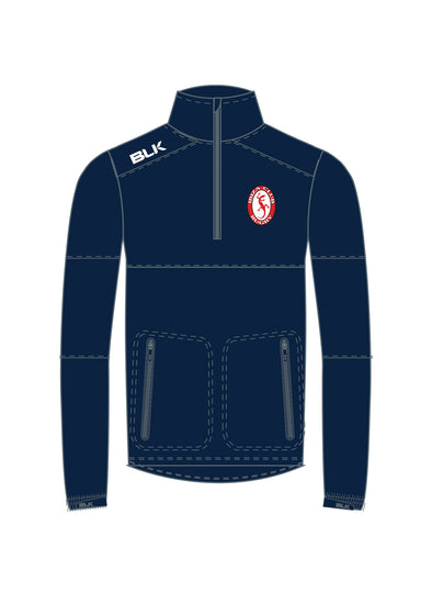 Ibiza Rugby Elite Qtr Zip Top - Navy