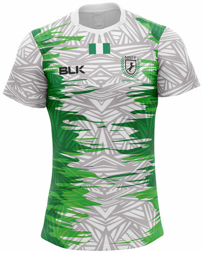 Nigeria Home Replica Jersey - White/Green
