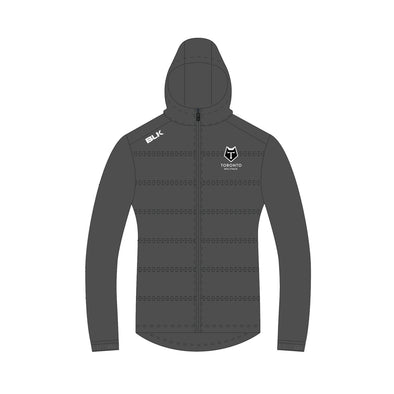 Toronto Wolfpack Puffer Jacket - Charcoal