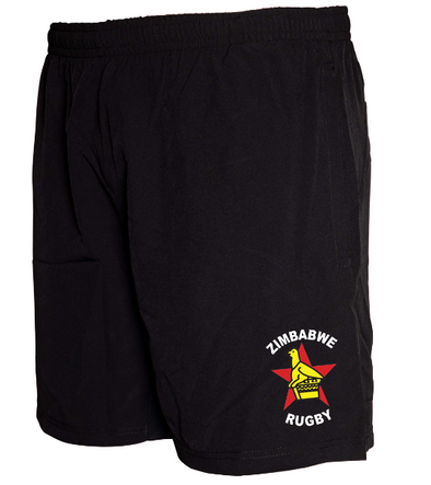 "Zimbabwe Tek VI 8"" Gym Shorts - Black"