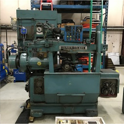 blue Barber-Colman  16-16 M/C Hobber Machine