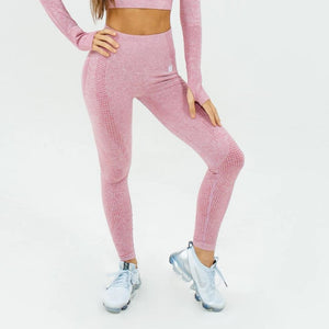 Flex Seamless Leggings|Pink
