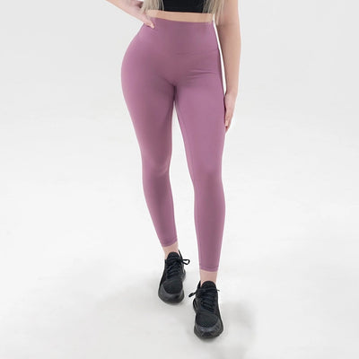Elite Seamless 7/8 Leggings|Deep Mauve - Fitness Elite