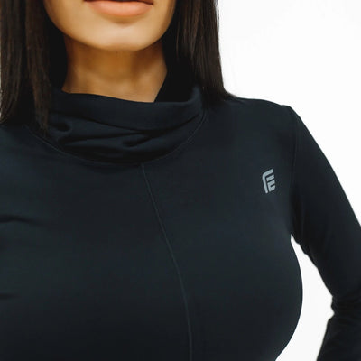 Elite Long Sleeve|Black - Fitness Elite