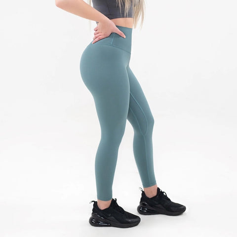 Elite Seamless 7/8 Leggings|Cerulean - Fitness Elite