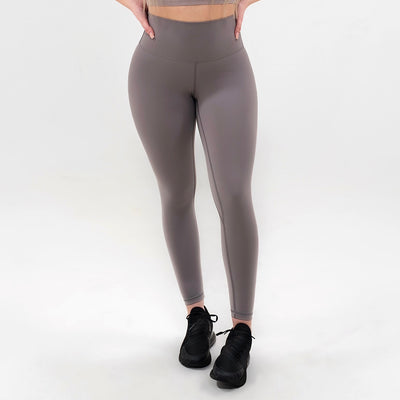 Elite Seamless 7/8 Leggings|Tan - Fitness Elite