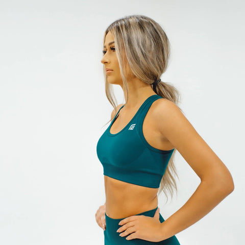 Energy Seamless Top|Viper Green - Fitness Elite