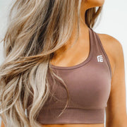 Energy Seamless Top|Desert Sand - Fitness Elite
