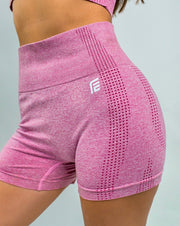 Flex Seamless Shorts|Pink