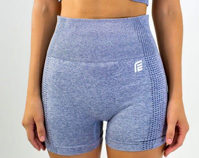 Flex Seamless Shorts|Gray