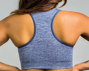 Flex Seamless Sports Bra|Gray