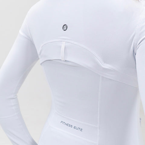 Elite Jacket|Pearl White