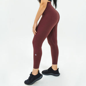 Elite Seamless 7/8 Leggings|Plum