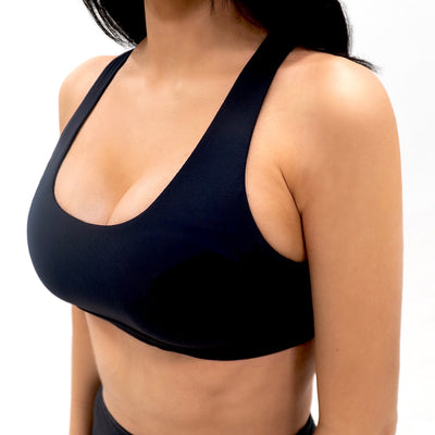 UNTAMED Fierce Seamless Sports Bra|Black