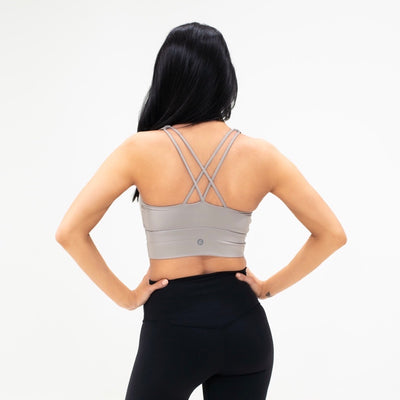 SO EXTRA Fierce Seamless Sports Bra|Nude