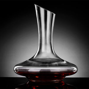 1800ml / 60 oz Hand-Blown 100% Lead-Free Crystal Decanter European Wine Aerator  *** FREE SHIPPING USA/EU/UK/AUS ***