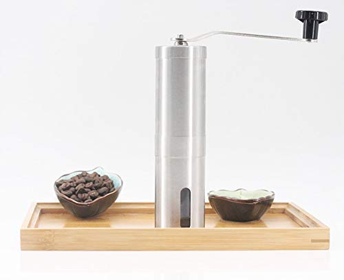 Manual Portable Ceramic Burr Coffee and Spices Grinder