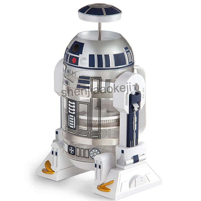 Star Wars R2-D2 Hand Coffee Press Pot Percolator Insulated *** FREE SHIPPING USA/EU/UK/AUS ***