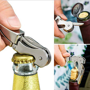 Wine Preservation and serving set - Wine Saver Vacuum Pump Preserver, 4x Bottle Stoppers, Wine Aerator & Bottle Opener *** FREE SHIPPING USA/EU/UK/AUS ***