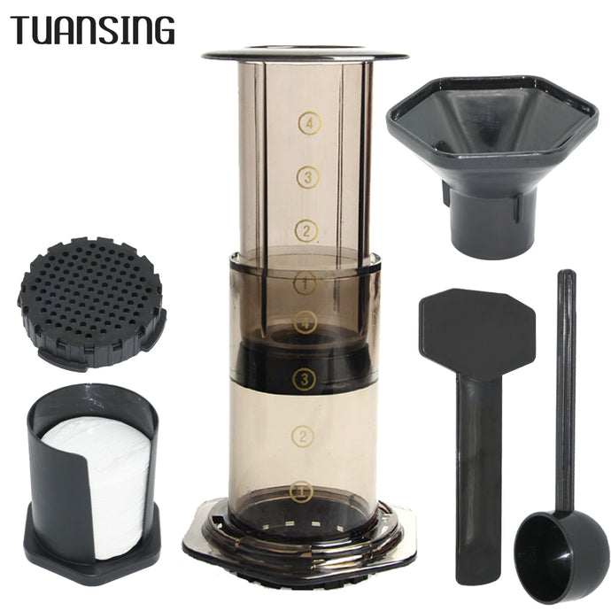 Portable French Press Coffee Maker Air Press Espresso Machine with 350pcs Filter Papers *** FREE SHIPPING USA/EU/UK/AUS ***