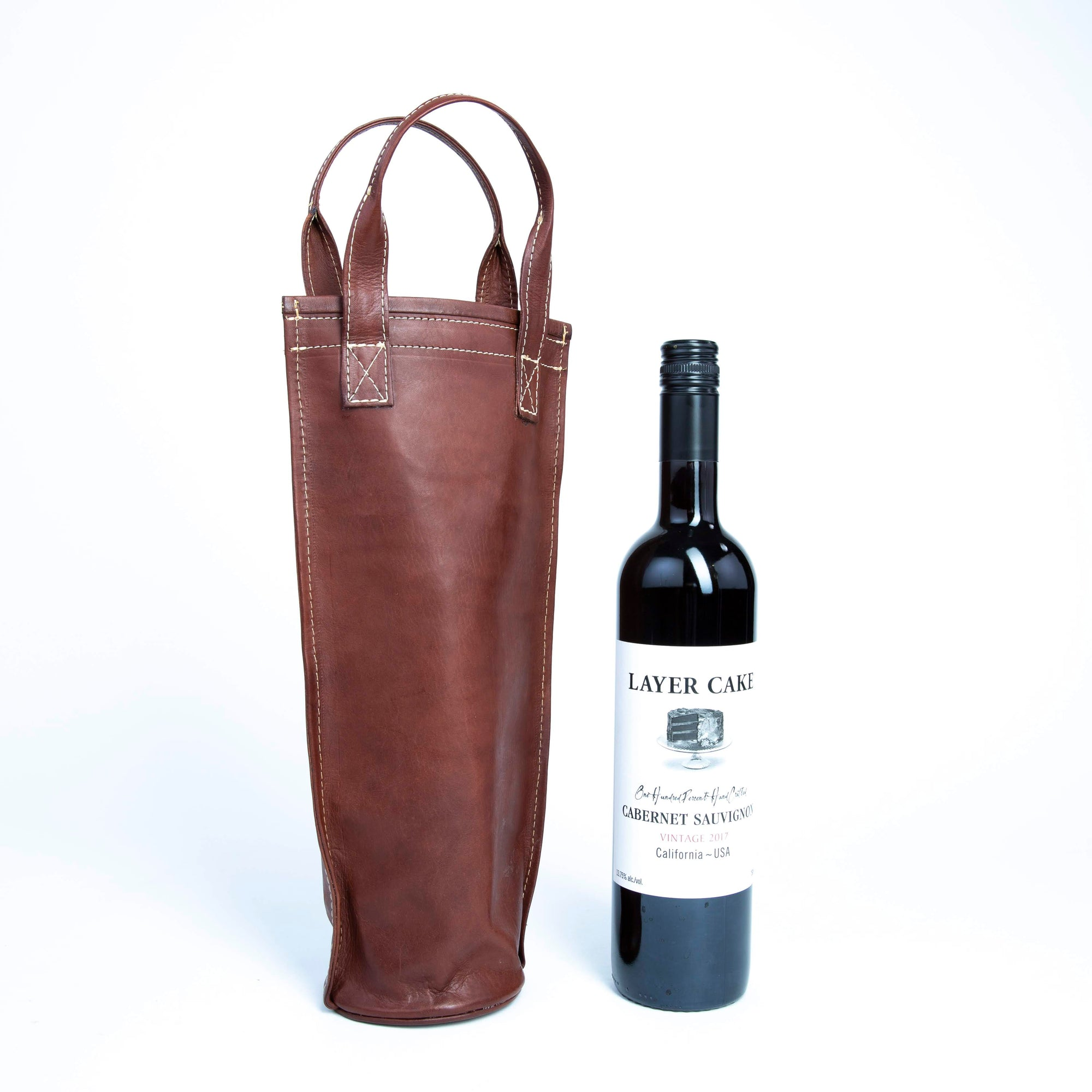 Vino | Brown Wine Caddy