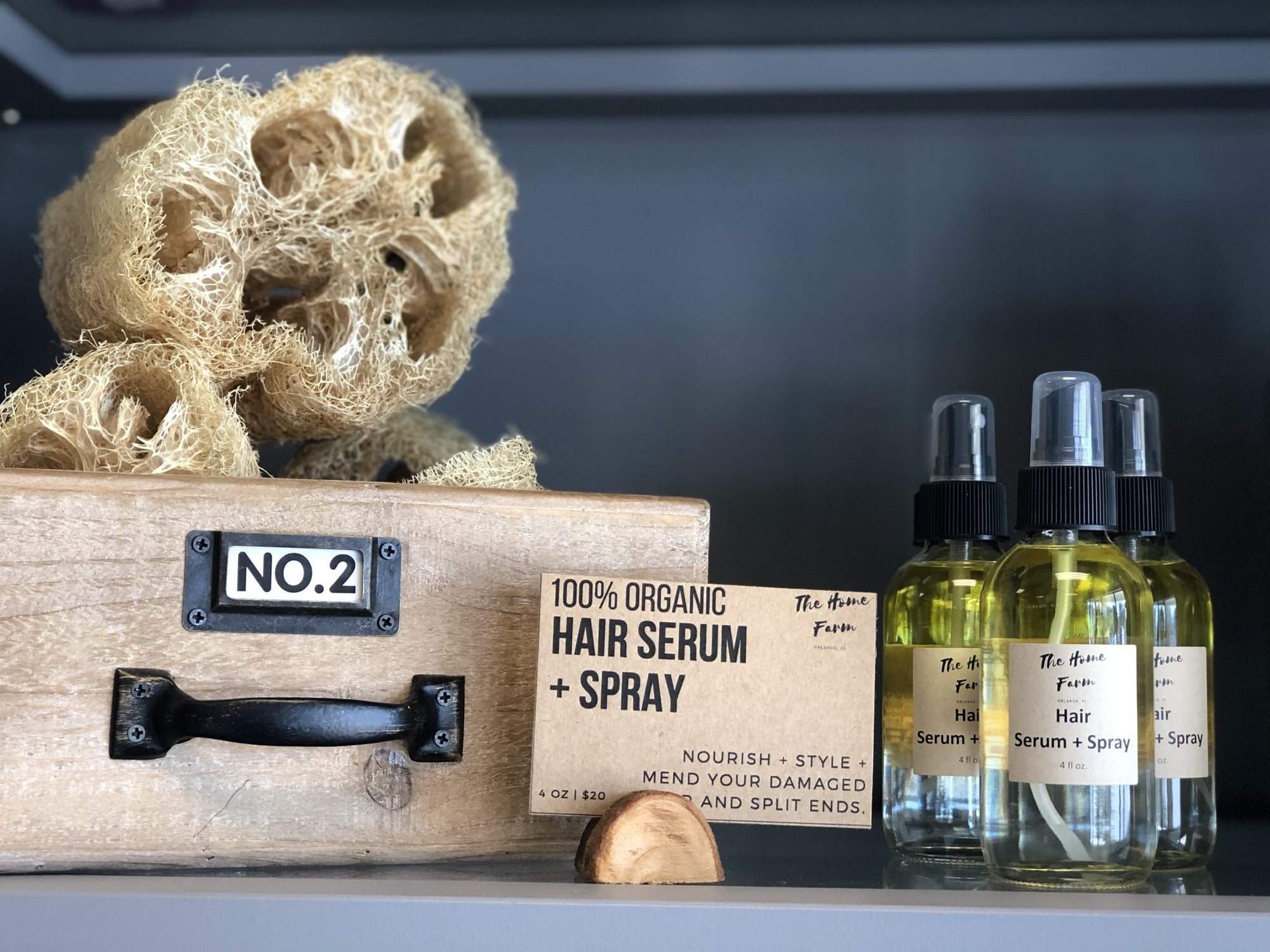 Hair Serum + Spray