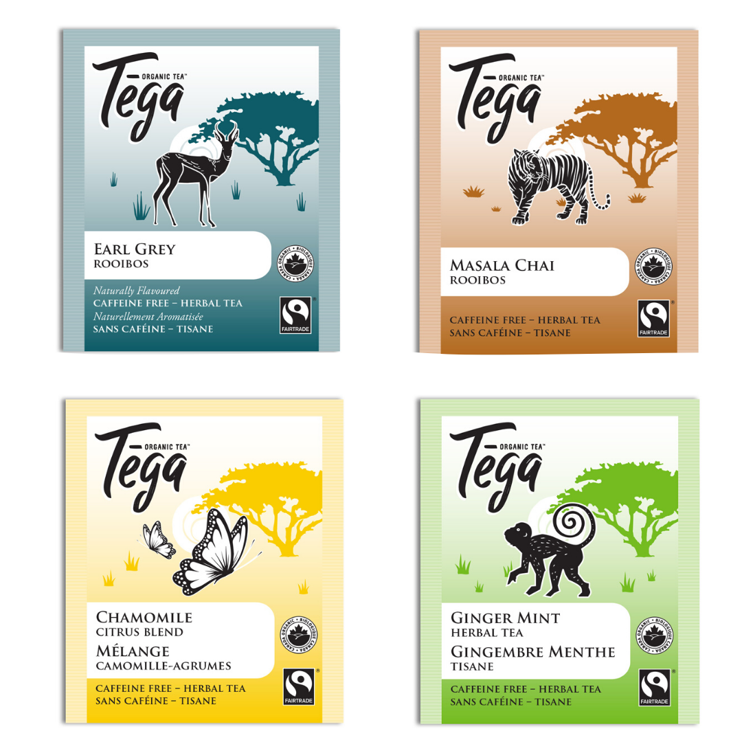 Tega Herbal Tea Sampler - Free with a $50 order