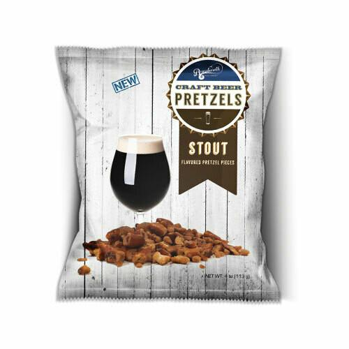 COMBO SNACK PACK BEER PRETZELS 4OZ (PACK OF 6)