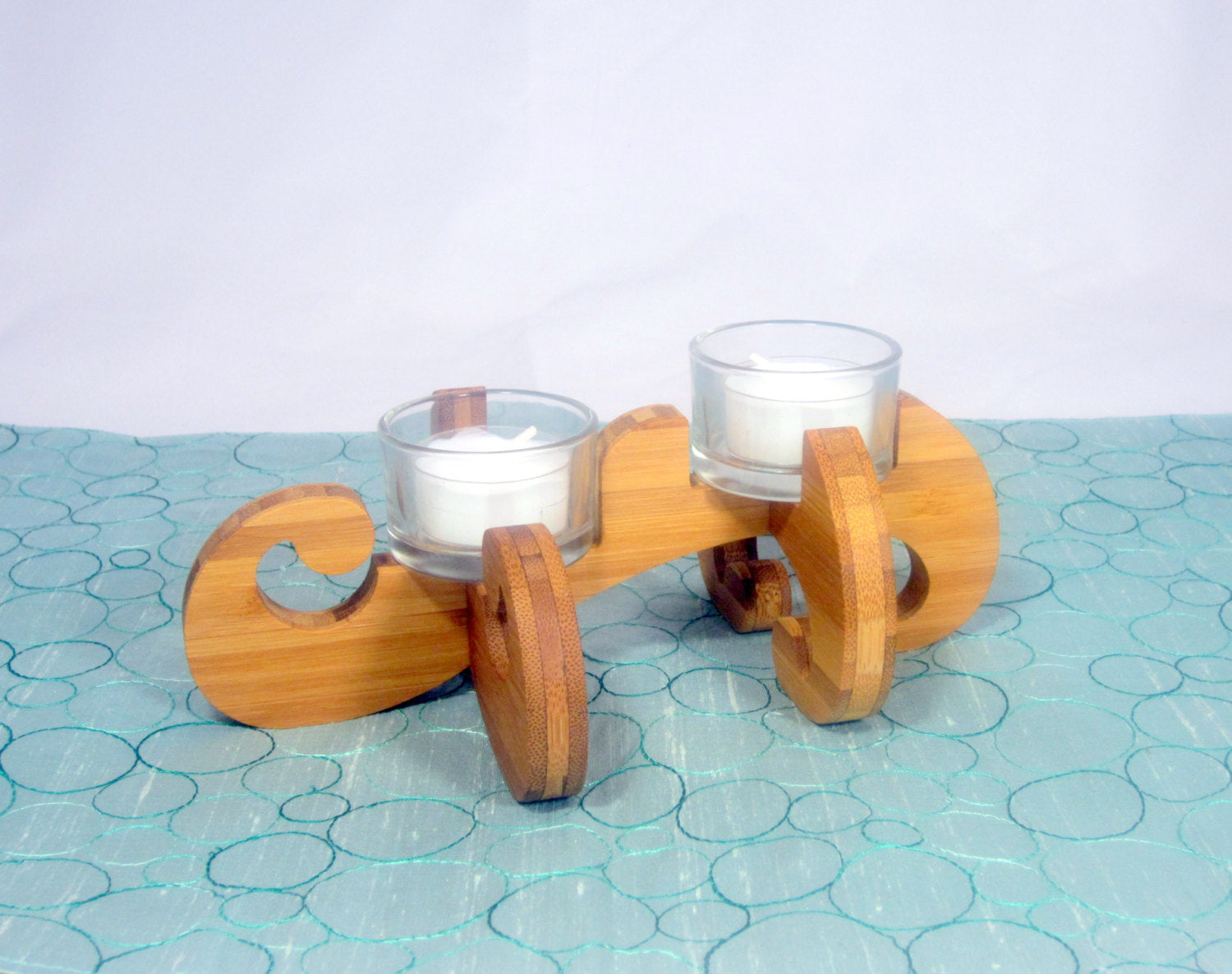 K.O.T. Tea Light Holder in bamboo