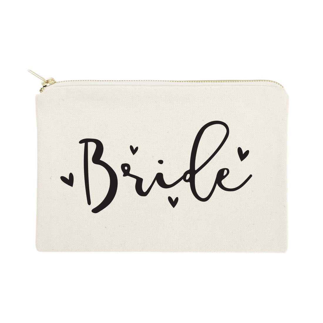 Bride Cotton Canvas Cosmetic Bag