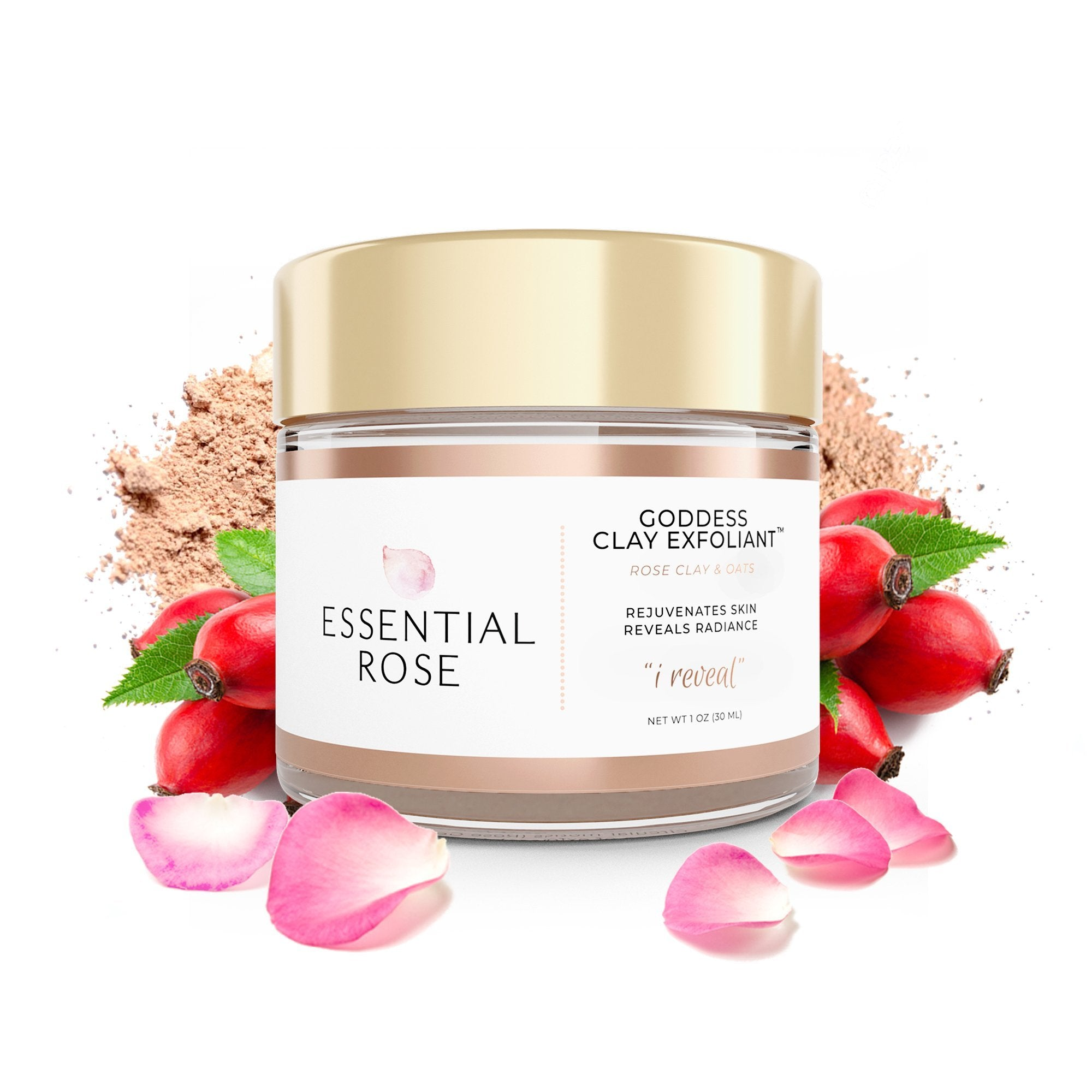 Face Mask Exfoliant - Goddess Clay
