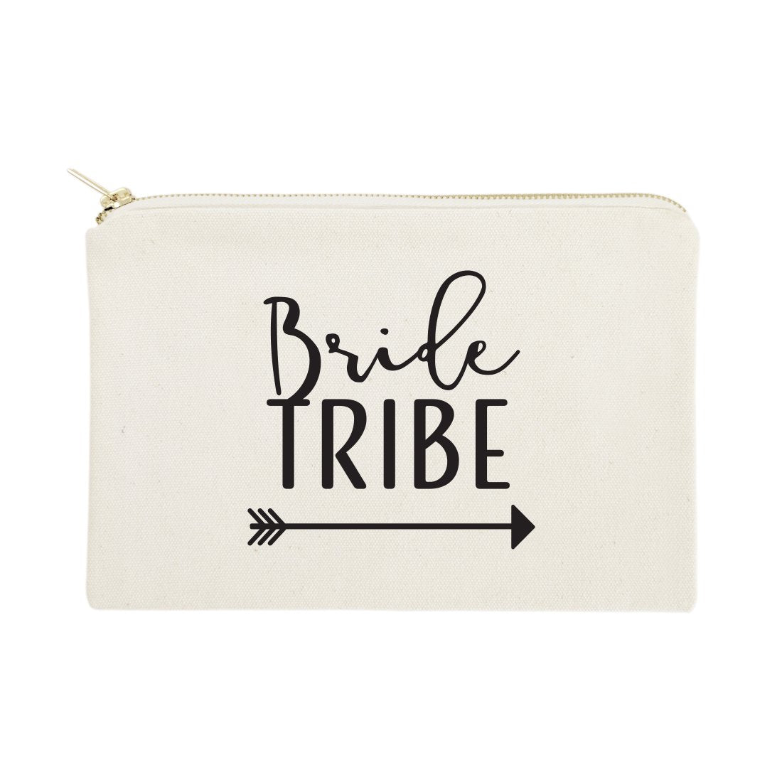 Bride Tribe Cotton Canvas Cosmetic Bag