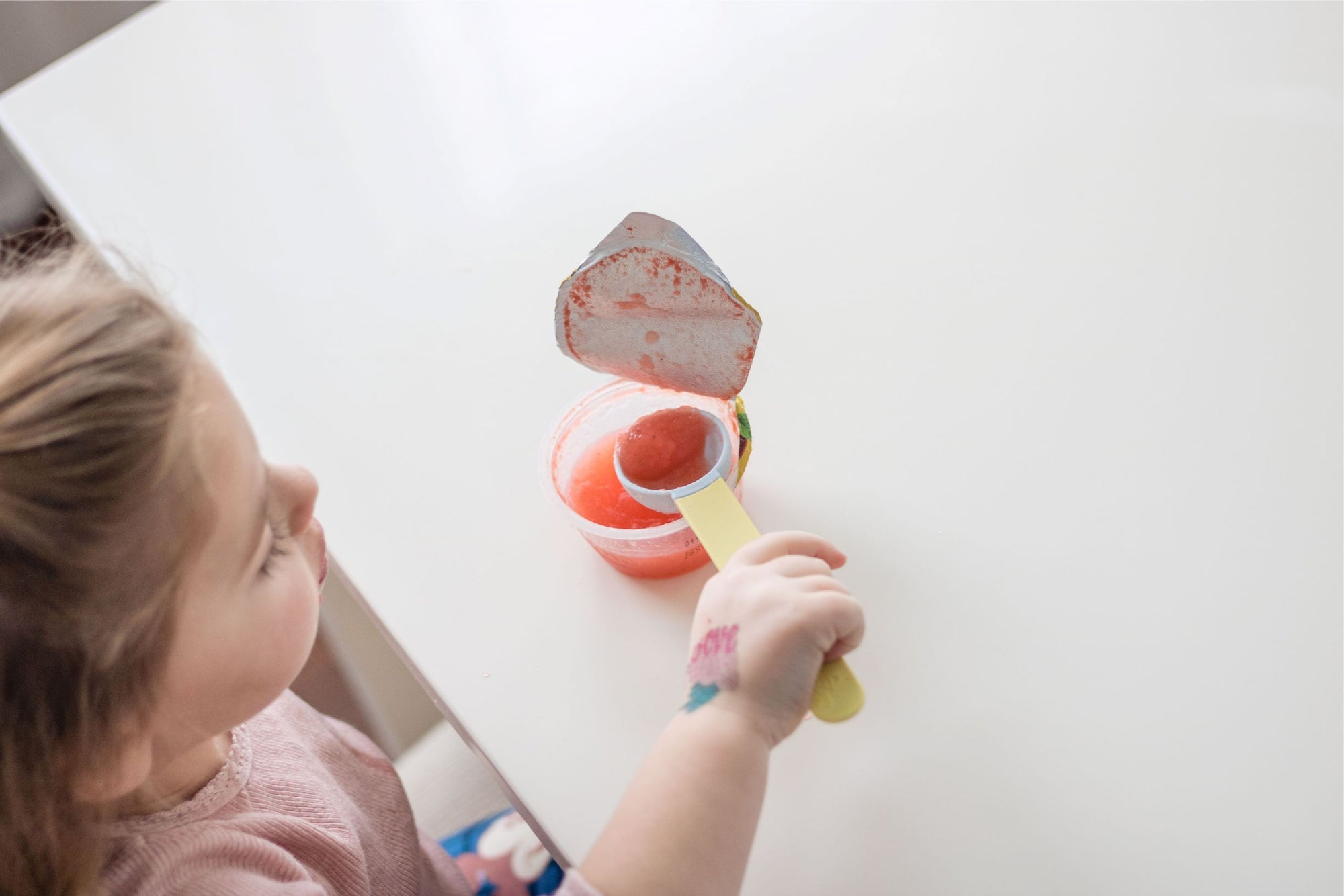 The SuperSpoon Toddler & Child Self-Feeding Spoon