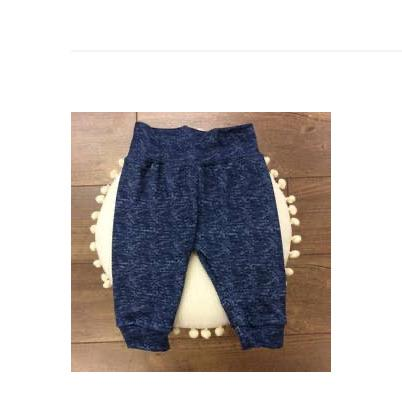 Jena Bug Baby Boutique - Faux Denim Knit Baby Joggers
