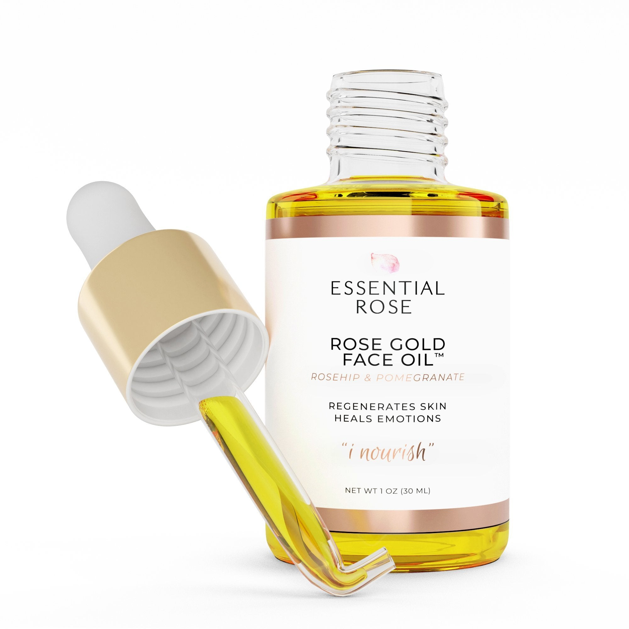 Rejuvenating Face Oil - Rose Gold