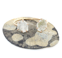Load image into Gallery viewer, Muscovite Double Cuff Bracelet