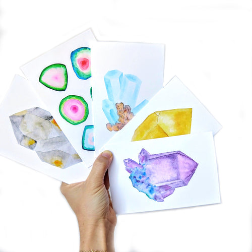 5 Pack Greeting Card Set
