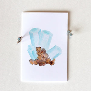Aquamarine Greeting Card