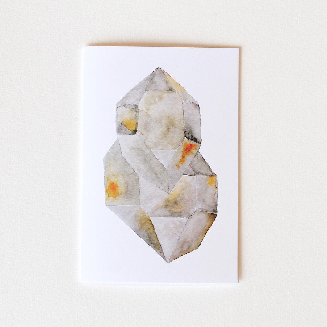 Herkimer Diamond Greeting Card