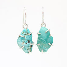 Load image into Gallery viewer, Turquoise Drop Earrings