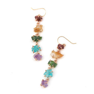 Rainbow Waterfall Earrings