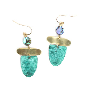 Patina Trapeze Earrings