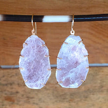 Load image into Gallery viewer, Lepidolite Prong Earrings