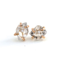 Load image into Gallery viewer, Herkimer Diamond Studs
