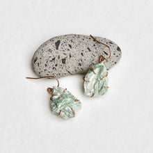 Load image into Gallery viewer, Fuchsite Drop Earrings