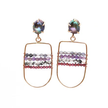 Load image into Gallery viewer, Adorned Abacus Earrings