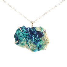 Load image into Gallery viewer, Raw Azurite and Malachite Necklace