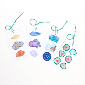 Gemstone Gift Tags